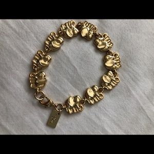 Lilly Pulitzer Elephant Clasp Bracelet